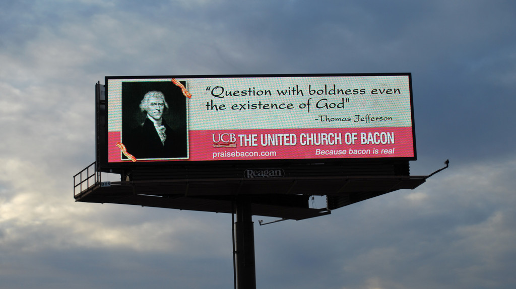 Close-Up of Jefferson quote UCB billboard 1