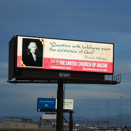 Billboard with a Side of Bacon