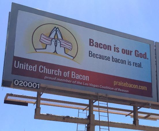 United Church of Bacon Wins Best Billboard
