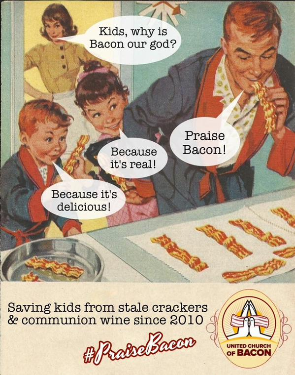 The Church of Bacon exists, and it wants to help all couples get married