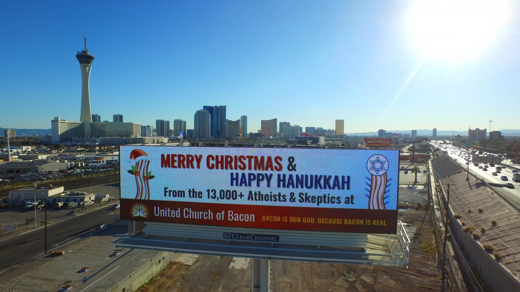 Drone Footage Of Our New 2015 Holiday Billboard