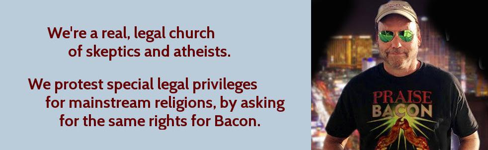 We're a real, legal church!